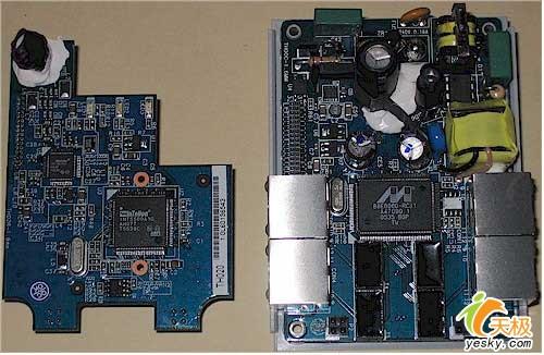 电路板叠放在一起的设计方式,要把它们放到那个设计相当简洁的外壳中