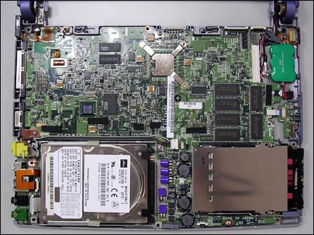 拆开表面看内部 索尼505笔记本是如何打造的