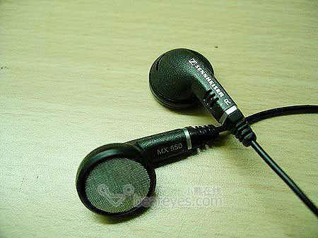 图为:森海塞尔mx500耳塞式耳机